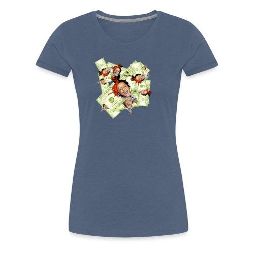 dollar - Women's Premium T-Shirt