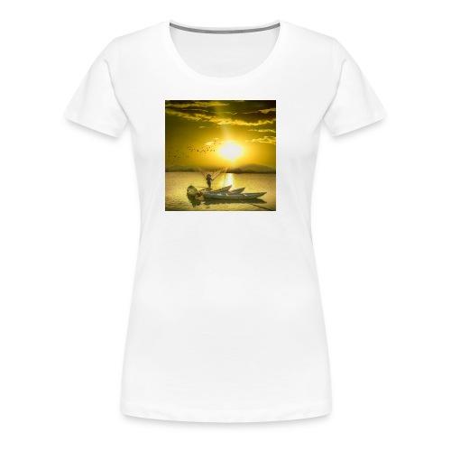 Tramonto - Maglietta Premium da donna