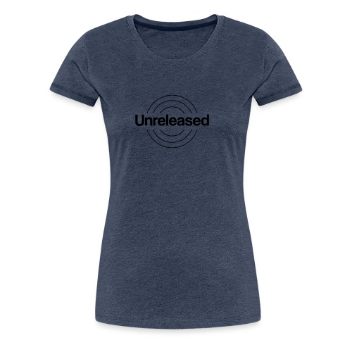 unreleased black - T-shirt Premium Femme
