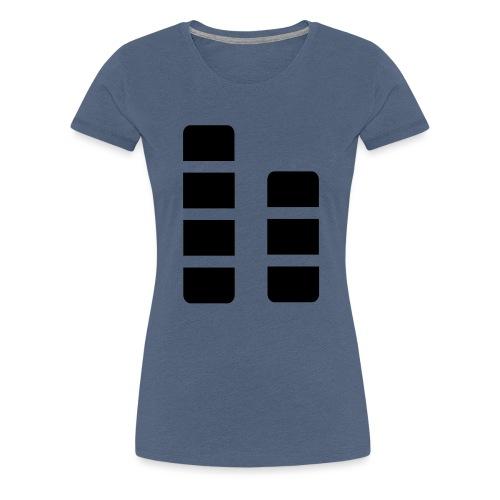 ctylight icon bild - Frauen Premium T-Shirt