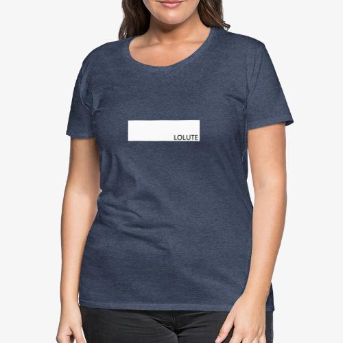 LOLUTE - Premium-T-shirt dam