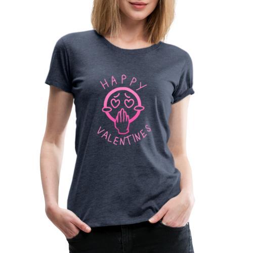 T-Shirt zum Valentinstag Motive: Upsi - Frauen Premium T-Shirt