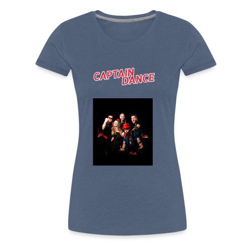Banner-in-rot-new-spacing - Frauen Premium T-Shirt