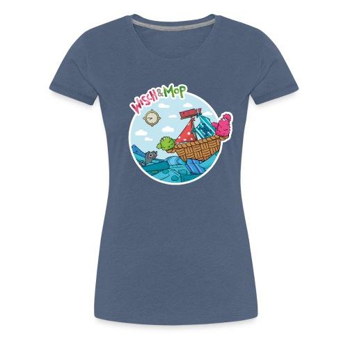 Wäsche-Piraten - Frauen Premium T-Shirt