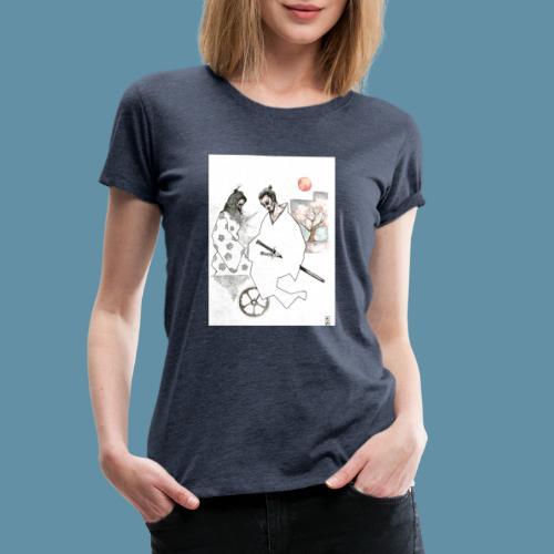 Samurai copia jpg - Maglietta Premium da donna