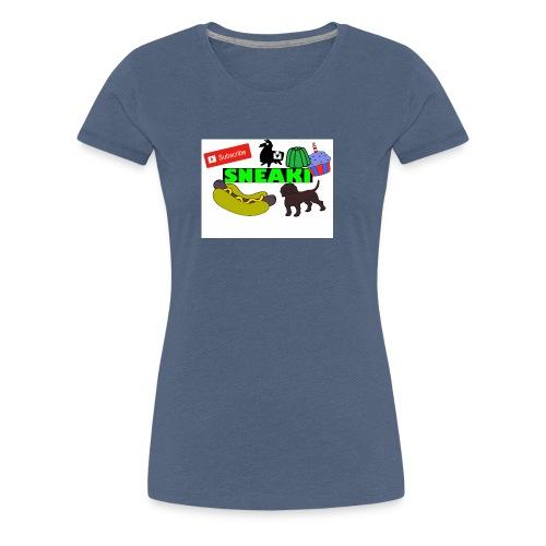 Sneaki Doodle Hoodie - Women's Premium T-Shirt