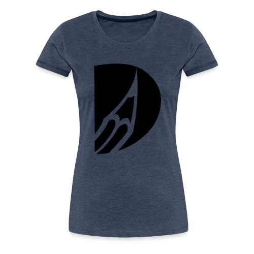 bleistiftLogo einfarb - Frauen Premium T-Shirt