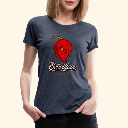 Chili Chilischote Chilihead Scovillain - Frauen Premium T-Shirt