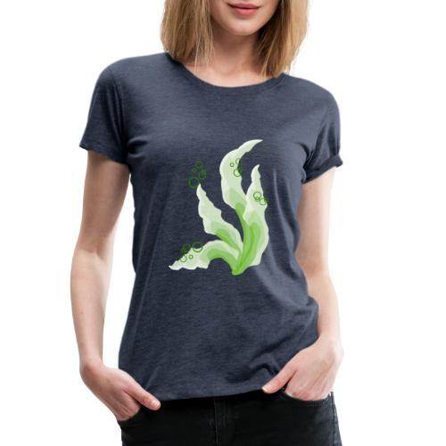 pennelli acquerello verde - Maglietta Premium da donna