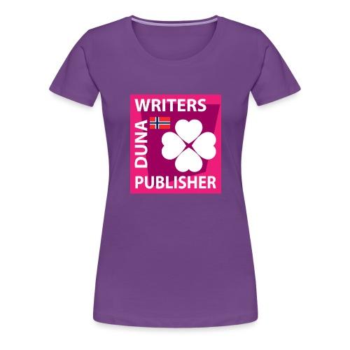 Duna Writers Publisher Pink - Premium T-skjorte for kvinner
