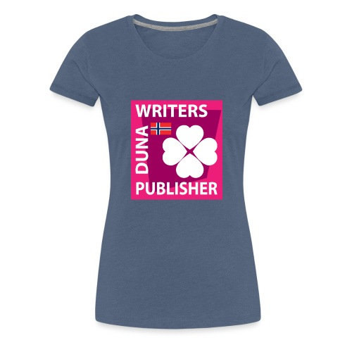 Duna Writers Publisher Pink - Premium T-skjorte for kvinner