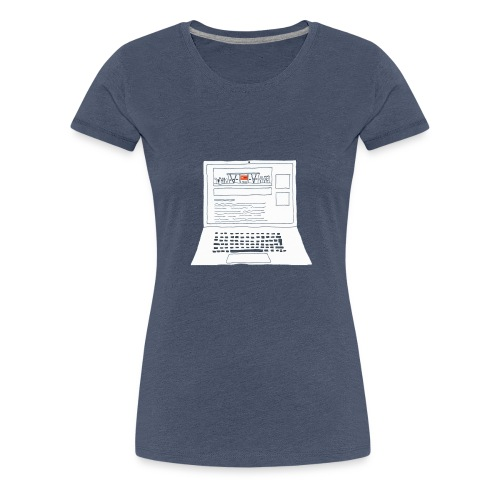 Laptop 20CENT Retail - T-shirt Premium Femme