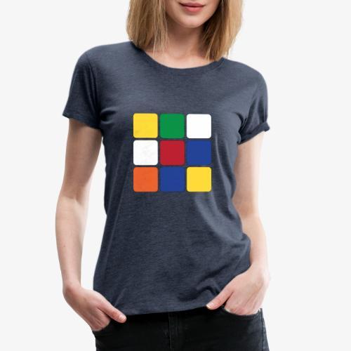 Square - Maglietta Premium da donna