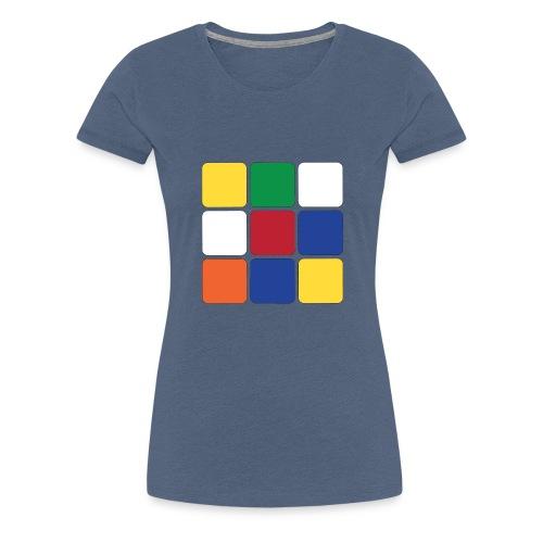Square - Women's Premium T-Shirt