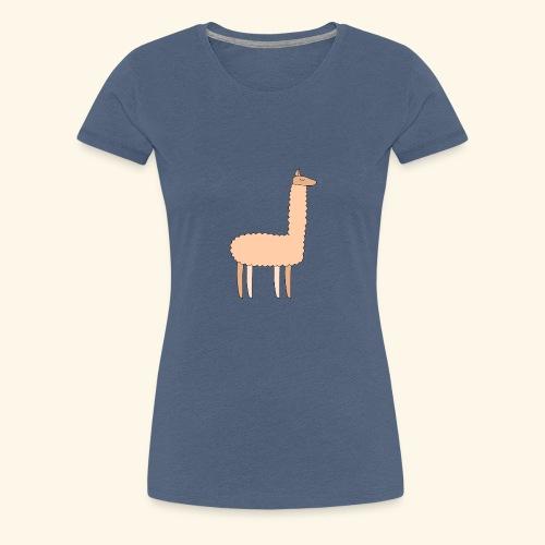 Llama - Women's Premium T-Shirt