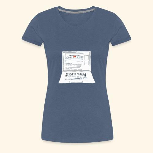 Laptop 20CENT Retail - T-shirt Premium Femme