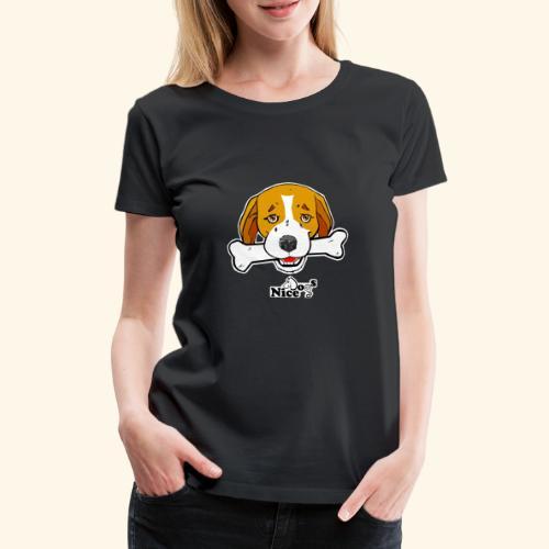 Nice Dogs Semolino - Maglietta Premium da donna