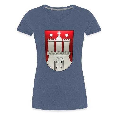 Hamburg - Frauen Premium T-Shirt