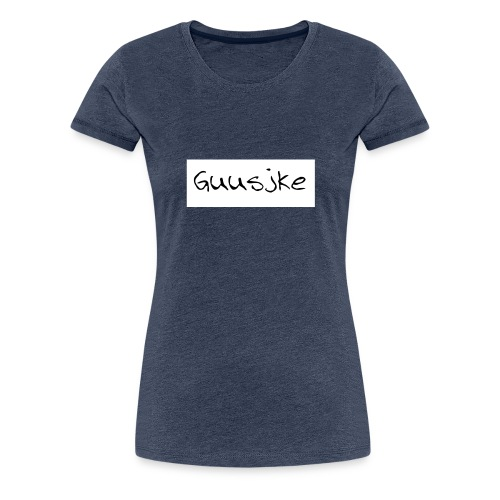 Guusjke t-shirt long sleeves - Vrouwen Premium T-shirt