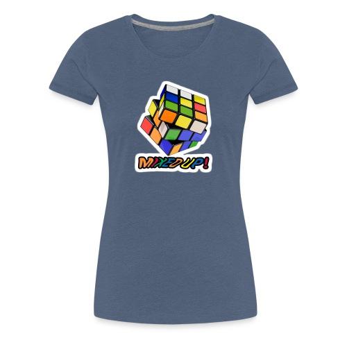 Rubik's Mixed Up! - Premium-T-shirt dam
