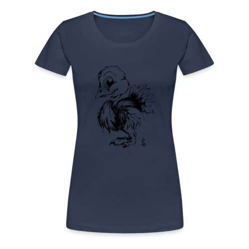 Autruchon - T-shirt Premium Femme