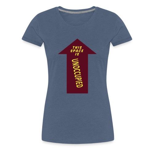 HM Murdock - Unoccupied Space - Women's Premium T-Shirt