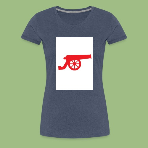 AFC Cannon - Red - Premium-T-shirt dam