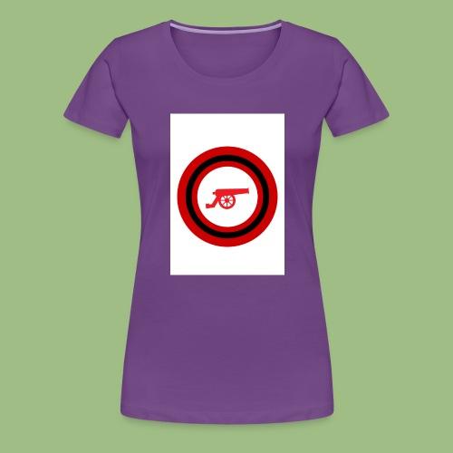 Cannon - Circle - Premium-T-shirt dam