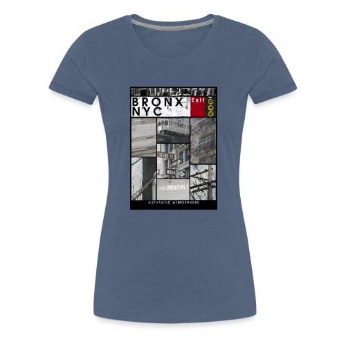 Bronx Nyc - Naisten premium t-paita