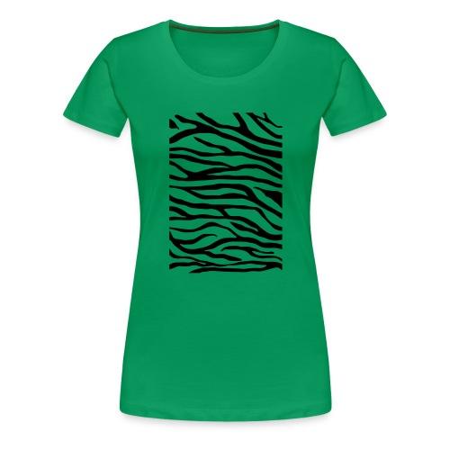 zebra v6 - Vrouwen Premium T-shirt