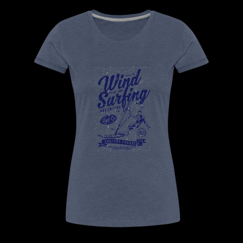 Wind Surfing - Frauen Premium T-Shirt