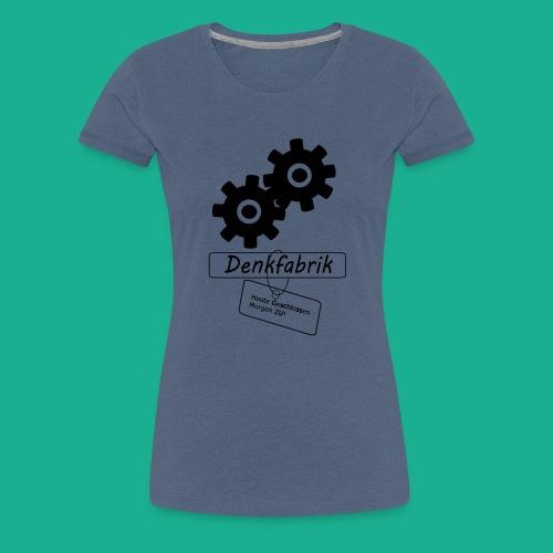 Denkfabrik - Frauen Premium T-Shirt