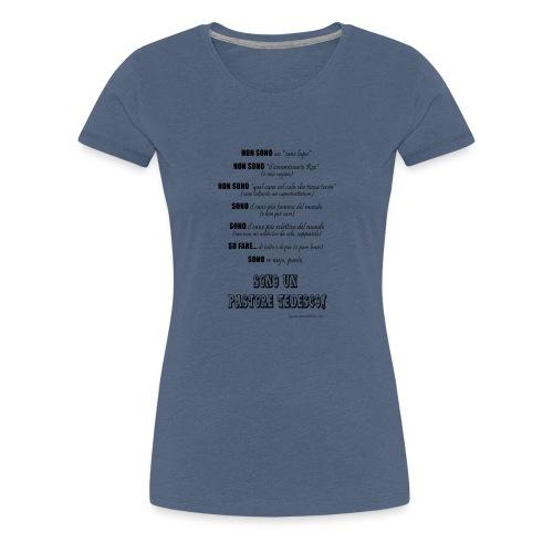 Vero standard PT - Maglietta Premium da donna