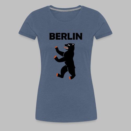 BERLIN - Berliner Bär (Vektor) - Frauen Premium T-Shirt
