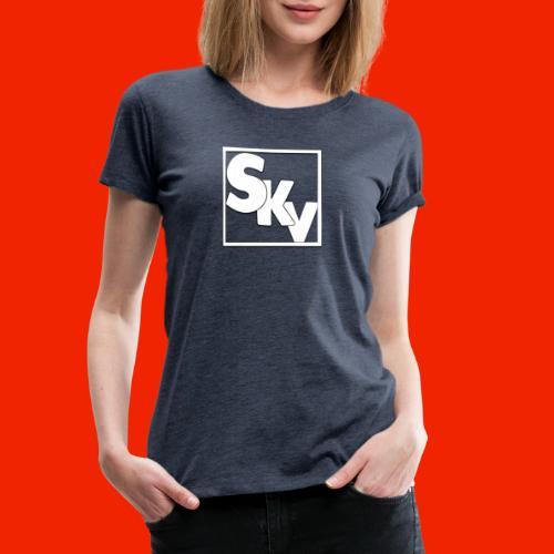 SerkanKetchupVlogs Logo (SKV Logo) - Vrouwen Premium T-shirt