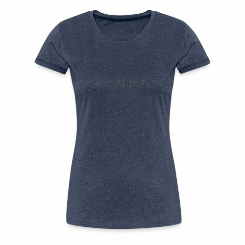 """Dollar"" Classic Logo Design - Women's Premium T-Shirt"