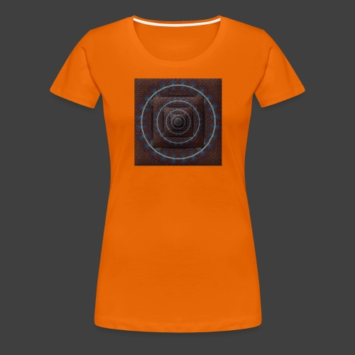 Time Tunnel Brown - Women's Premium T-Shirt