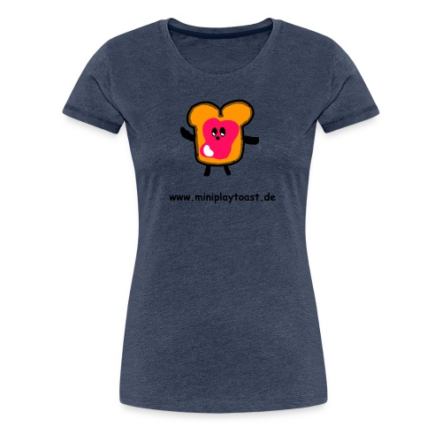 MINIPLAYTOAST Fanartikel - Frauen Premium T-Shirt