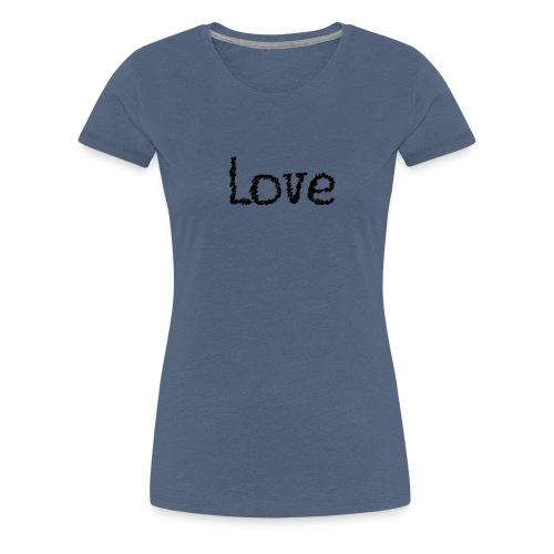 Love sketch - Frauen Premium T-Shirt