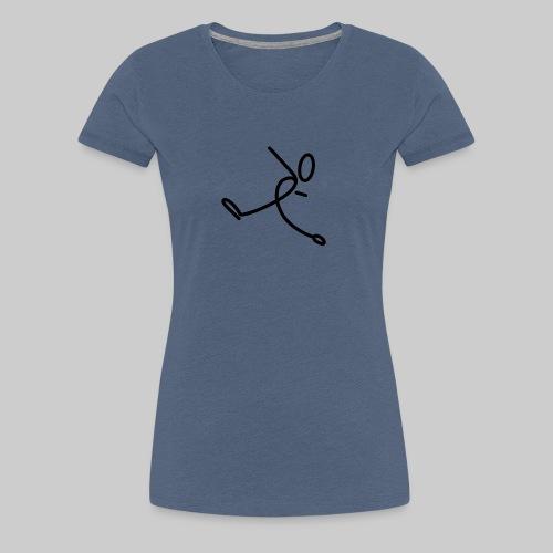 Strichmännchen - Frauen Premium T-Shirt