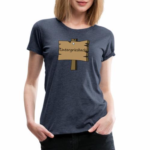 Ugriesbach1 - Frauen Premium T-Shirt