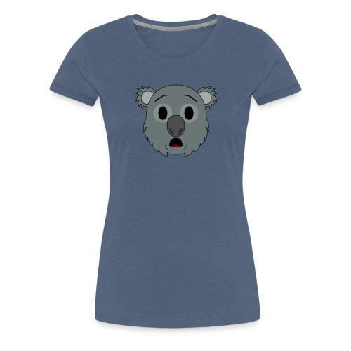 Koala Klay Asombro - Camiseta premium mujer