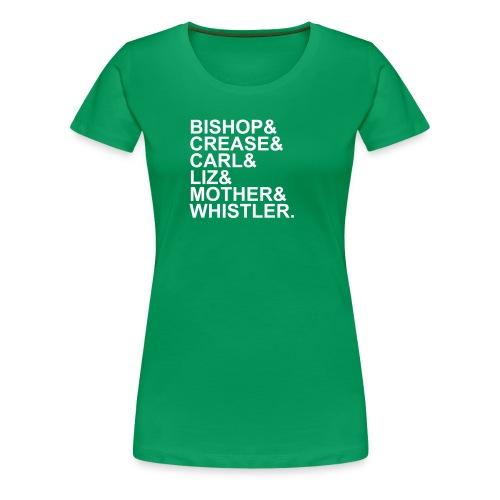 Bishop's team - Vrouwen Premium T-shirt