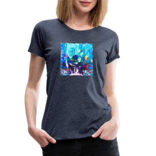Abstrakt - Frauen Premium T-Shirt