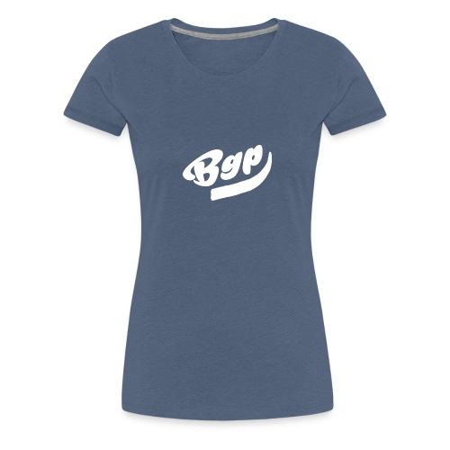 BGP T-Shirt Zwart - Vrouwen Premium T-shirt