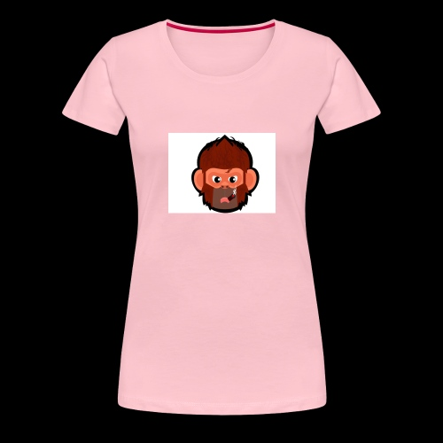 pogo clan Buttons & badges - Dame premium T-shirt