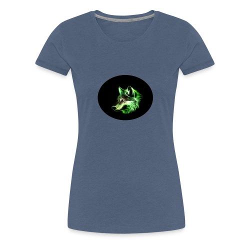 wolf profil bild edition - Frauen Premium T-Shirt