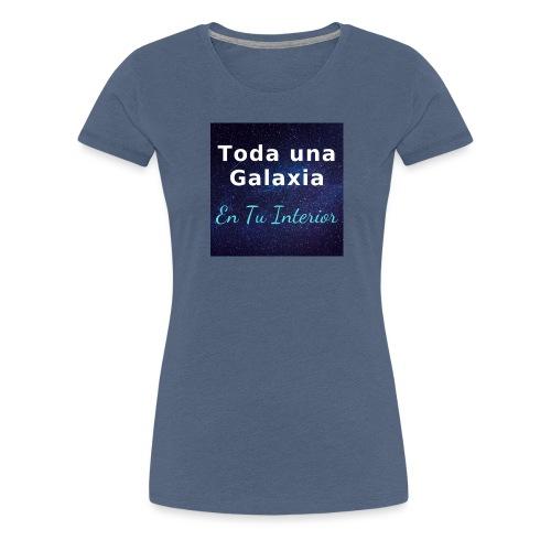 Galaxia en Tu Interior - Camiseta premium mujer