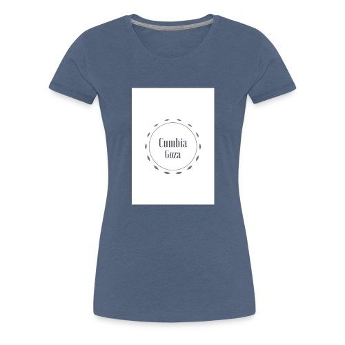 cumbia goza - Vrouwen Premium T-shirt