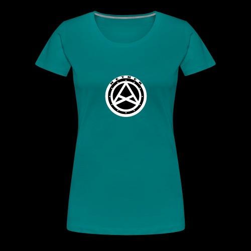 Nether Crew Black\White T-shirt - Maglietta Premium da donna